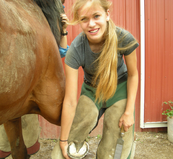 horseshoeing school