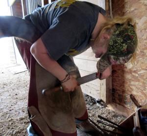 horseshoeing class